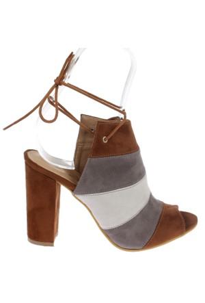 Shalin Şhk 356 Taba Bayan Ayakkabı