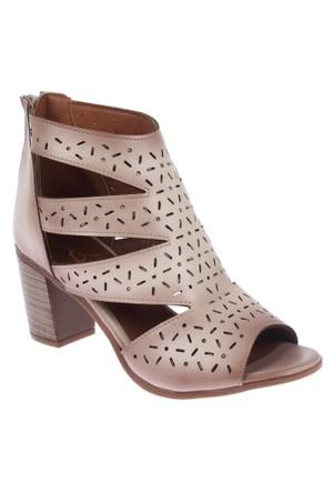 Beety Bty 1452 Bej Bayan Ayakkabı