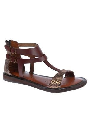 Beety Bty 107 Kahverengi Kadın Sandalet