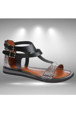 Beety Bty 107 Siyah Kadın Sandalet