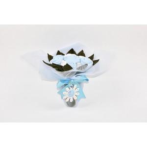 mcbaby bebek buketi elegance mavi 3 6ay - 3-6 ay - mavi