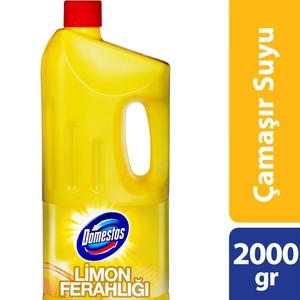 domestos çamaşır suyu limon ferahlığı 2000 gr