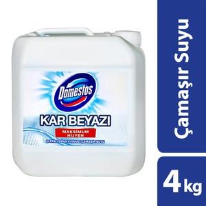 domestos yoğun kıvamlı çamaşır suyu kar beyazı 4 kg