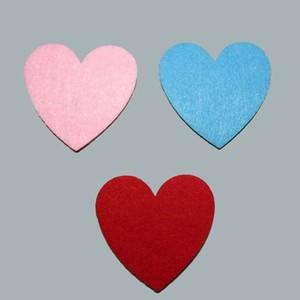 tahtakale toptancısı keçeden kalp 50 adet - kırmızı