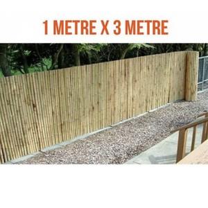 doğal bambu rulo çit bahçe çiti