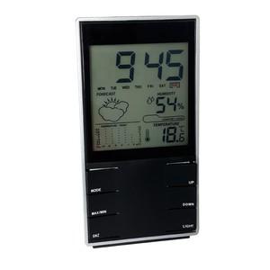 saatli iç mekan termometre ve nem ölçer thr139