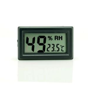 buzdolabı için termometre sıcaklık saati ,nem ölçer thr142x