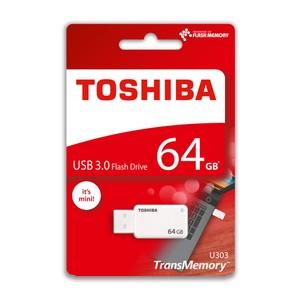 toshiba 64gb usb 3.0 u303 akatsuki mini beyaz thn-u303w0640e4