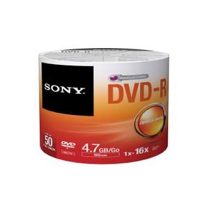 sony 4.7gb 120dk. 16x boş dvd-r 50li paket