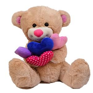 vardem oyuncak 013sbx145 peluş yastıklı ayı-köpek
