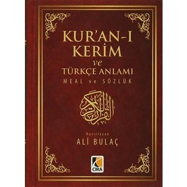 Kur'an-ı Kerim ve Türkçe Anlamı Meal ve Sözlük Kitabı ve Fiyatı