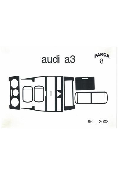 Demircioğlu Audi A3 1999/2003 Arası 8 Parça Maun Renk Torpido Kaplama