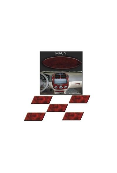 Demircioğlu Chevrolet Lacetti Hb 2004 Sonrası 23 Parça Maun Renk Torpido Kaplama