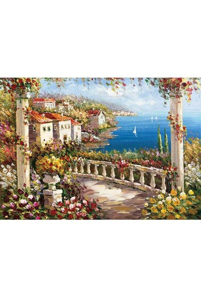 KS 1000 Parça Puzzle Land Of Peace