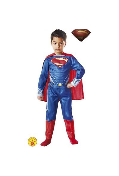 Süperman Çocuk Kostüm Klasik 5-6 yaş