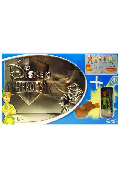 Disney Heroes Peter Pan Özel Set Metal Kutu