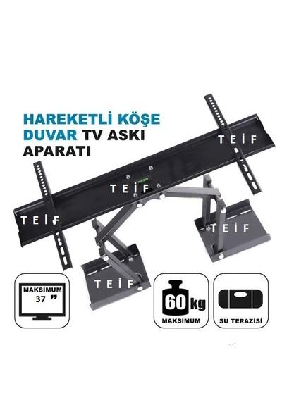 Teif 37'' Terazili Lcd / Led Tv Köşe Ve Duvar Tipi Askı Aparatı