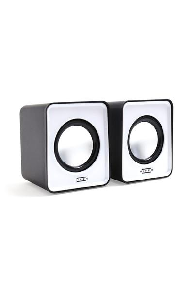 Hiper MS-10G Kablolu Speaker Gri