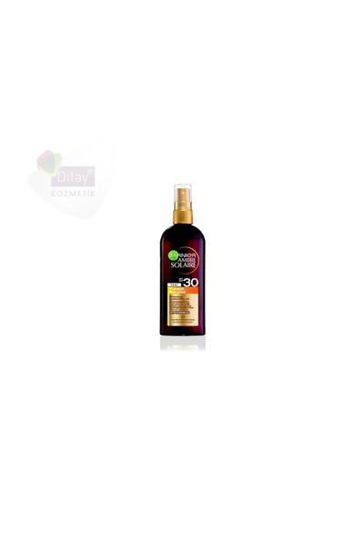 Garnier Ambre Solaire Spf30 Bronzing Oil Spray 150Ml