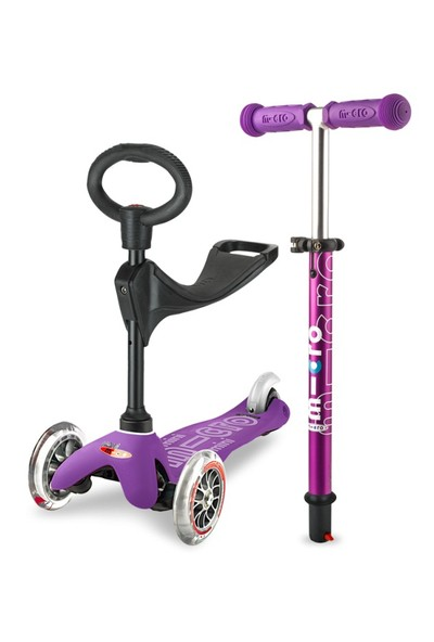 Micro Scooter Mini Deluxe 3 in 1 Mor MMD012