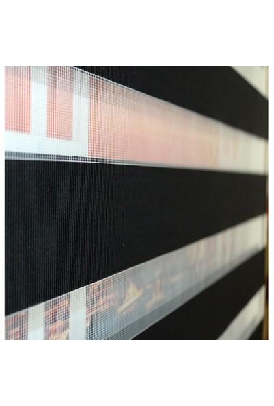 Brillant Zebra Perde Star Etek Dilimli - 426-07 50x200 cm
