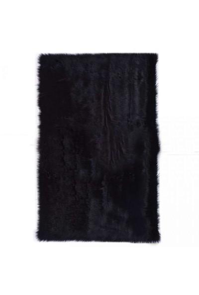 Post Halı Siyah 80X150 Cm