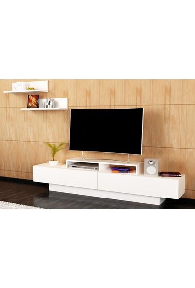 Lusi Tv Ünitesi - Beyaz