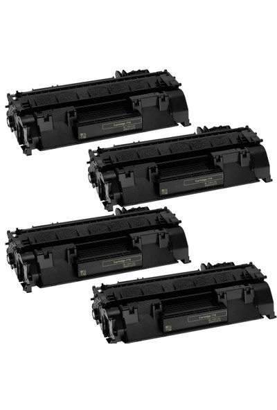Neon Canon İ Sensys Lbp251Dw Toner 4'lü Ekonomik Paket Muadil Yazıcı Kartuş