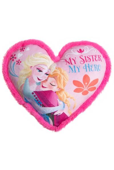 Frozen My Sister Heart Cushion