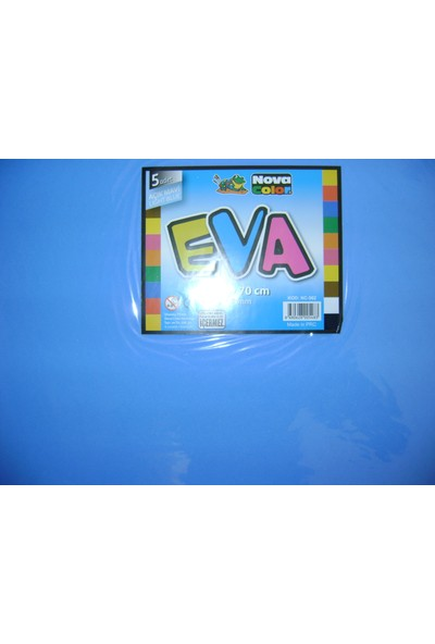 Nova Color Eva 2Mm 50*70Cm Mavi