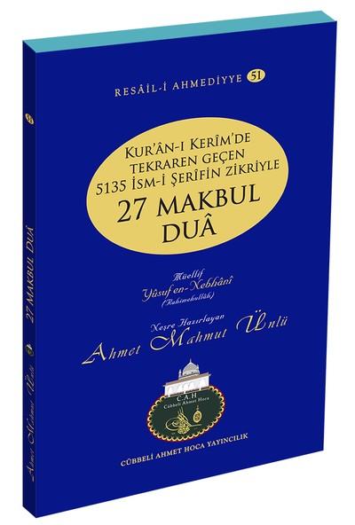 27 Makbul Dua - Ahmet Mahmut Ünlü