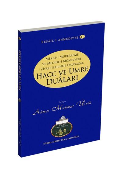 Hacc Ve Umre Duaları - Ahmet Mahmut Ünlü