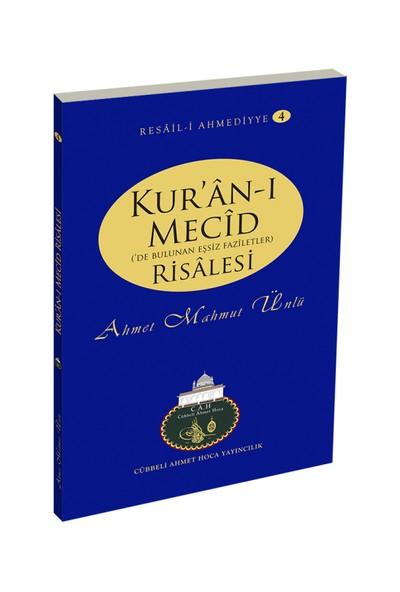 Kur'an-ı Mecid Risalesi