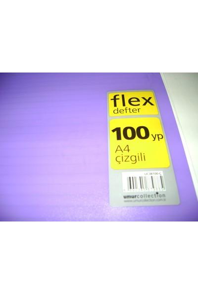 Flex A4 100Yp Çizgili Pp Kapak