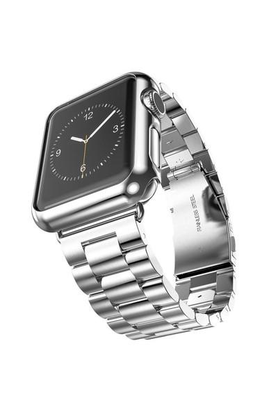 Arabulalaca Apple Watch 42Mm Çelik Kordon