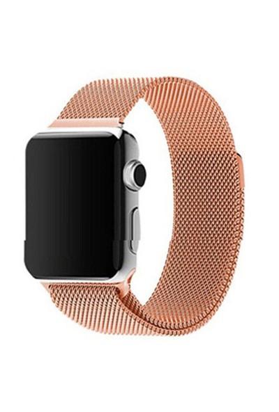 Arabulalaca Apple Watch 38Mm Çelik Örme Mıknatıslı Kordon