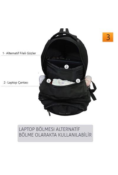 Dama Stile Backpack Anne Bebek Çantası Yeni Model 2016