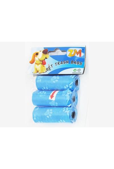 Petzoom Köpek Dışkı Toplama Poşeti 3 Paket
