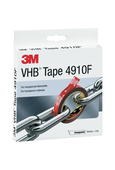 3M VHB 4910F Çift Taraflı Akrilik Bant (Şeffaf) 20444
