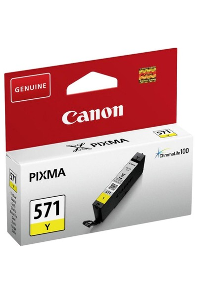 Canon CLI-571Y Sarı Mürekkep Kartuş