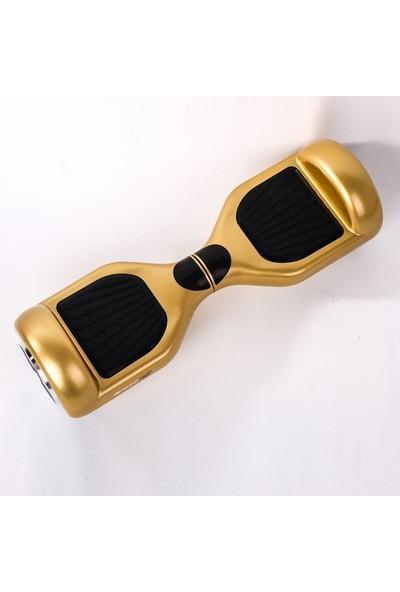 Speedroll Elektrikli Kaykay 6.5 Inch Air Board - Gold Hoverboard Samsung Batarya + Çanta Hediyeli