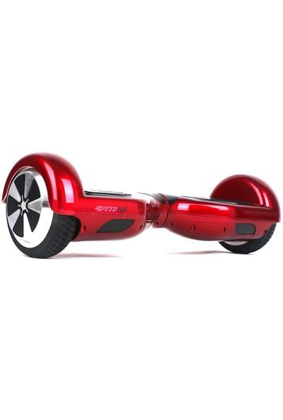 Speedroll Elektrikli Kaykay 6.5 Inch Air Board - Kırmızı Hoverboard Samsung Batarya + Çanta Hediyeli