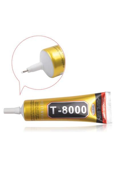 Zhanlida T-8000 50Ml Cep Telefonu Çerçeve Cam Lens Onarım Çok Amaçlı Yapıştırıcı Tutkal
