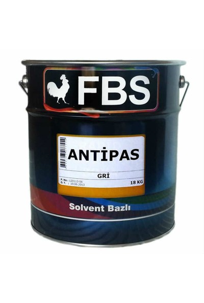 Fbs Sentetik Antipas Boya 18 Kg