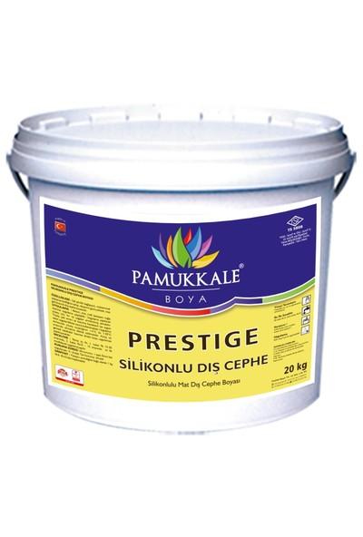 Pamukkale Prestige Silikonlu Dış Cephe Boyası 20 Kg