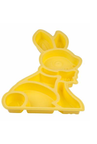 My EBİ Sarı Tavşan Silikon Kek Kalıbı