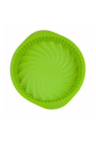 My Ebi Silikon Tart Kalıbı Yeşil
