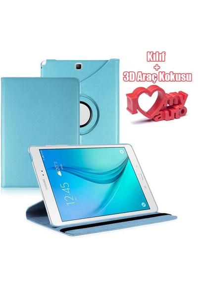 CoverZone Samsung Galaxy Tab A T560 Kılıf Mavi