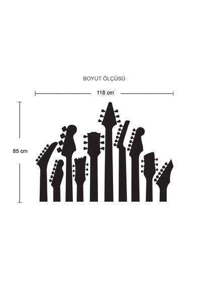 Besta Gitar Sapları Duvar Sticker