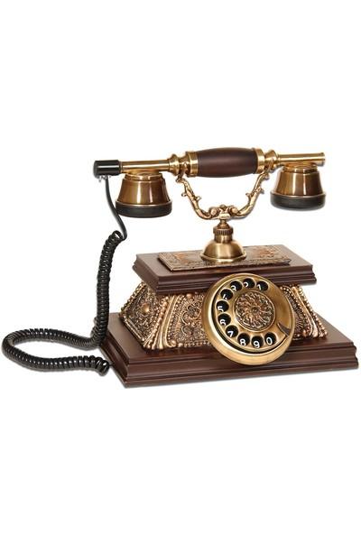 Anna Bell Yalı Eskitkme Klasik Telefon